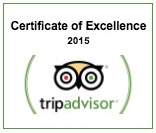 2015 Certificate of Excellence