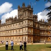 Highclere (Downton Abbey) and village visit